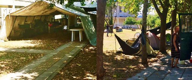 Το campus του ΑΠΘ μετατρέπεται σε κατασκήνωση